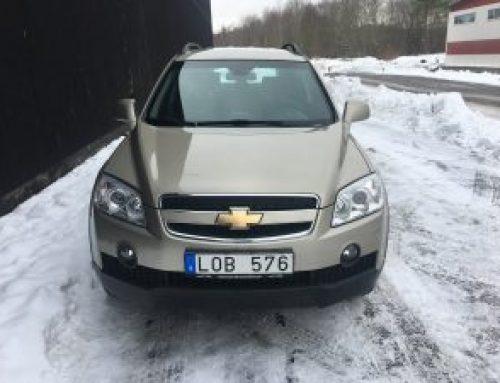 Chevrolet Captiva 2.0d 4WD Aut 2010 år Mil 15.374 Pris 64.900kr