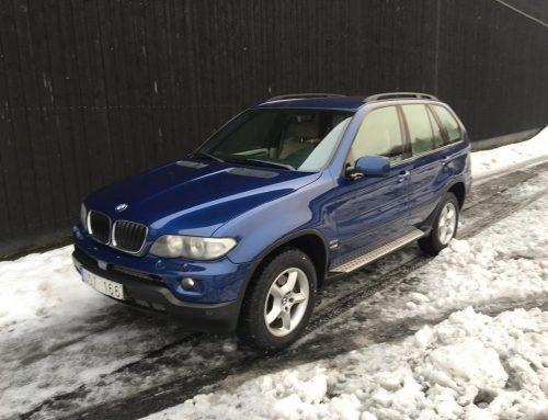 BMW X5 3.0d 218hk Aut 2007år VIN WBAFB71060LX74356 Mil 26.011 Pris 89.900kr